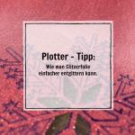 [Plotter-Anleitung] Wie man Glitzerfolie einfach entgittern kann (Tipp)