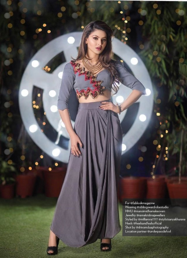 Urvashi Rautela in Fablook Magazine