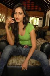 Sonal-Chauhan-Tight-Green-Top-Denim-Jeans (94)