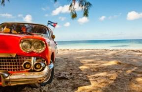 Cuba-Car-Beach-Cayo Jutias