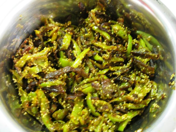 Bottle Gourd Peel Recipe