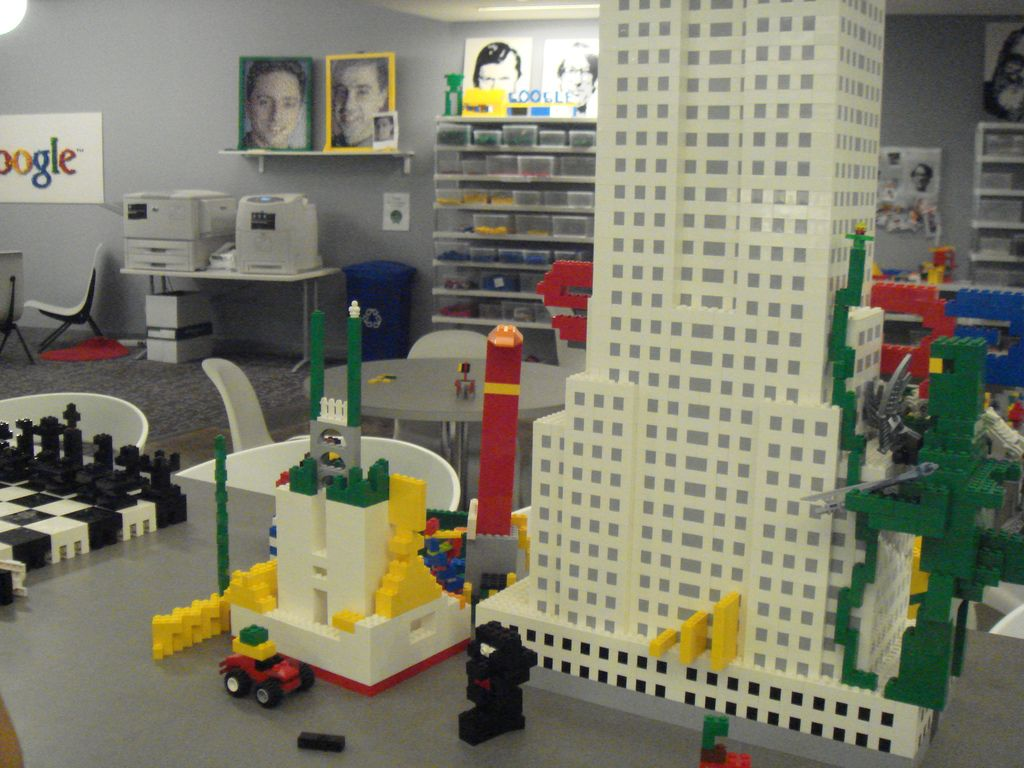 Lego in NY Google Office Friday  October 12  2007  Lego in NY Google Office