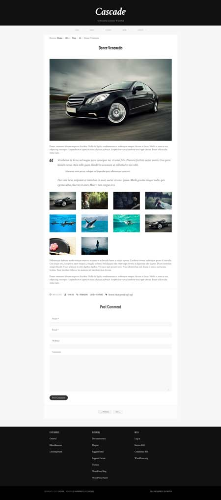 donec wordpress theme