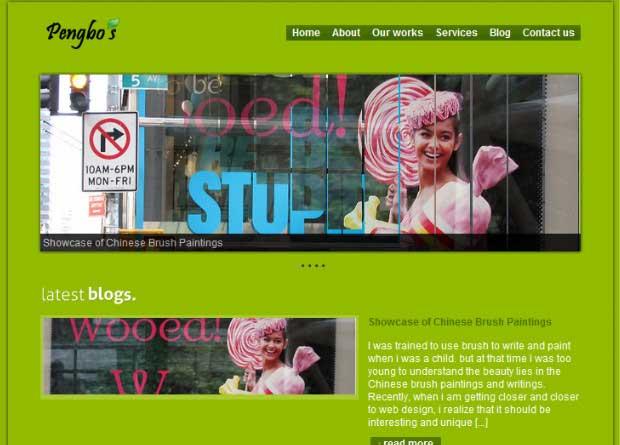 freenie wordpress free theme