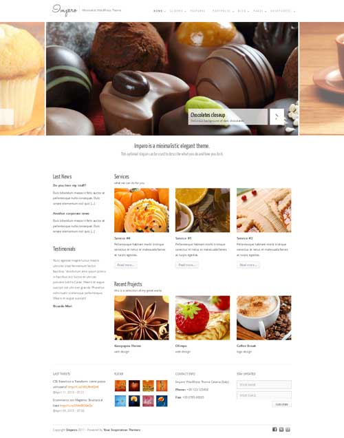 impero wordpress theme