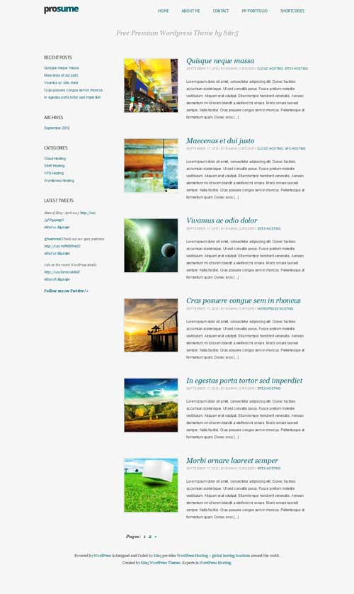 prosume wordpress theme