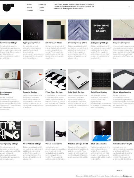 ultra grid wordpress theme free