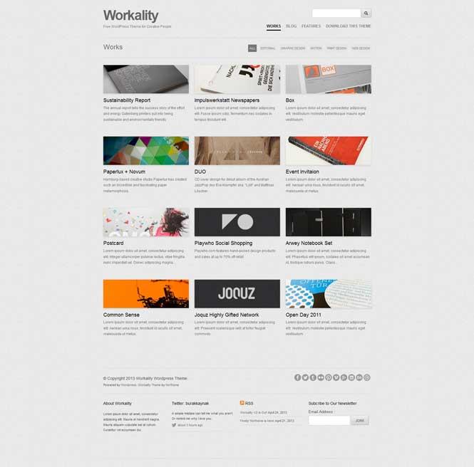workality free portfolio responsive theme