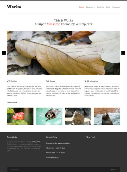 workz theme wordpress
