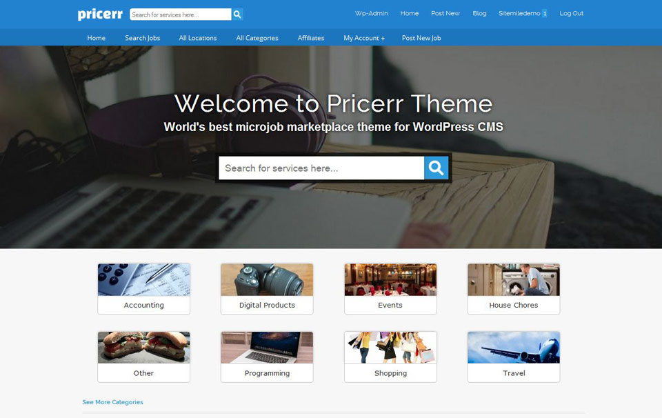 How to create your own Fiverr like site using WordPress