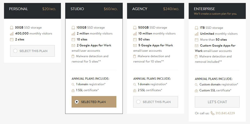 MediaTemple  2015 Premium WordPress Hosting Plans