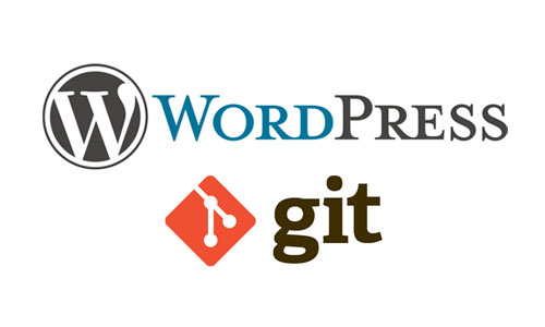 WordPress git integration version control 2015