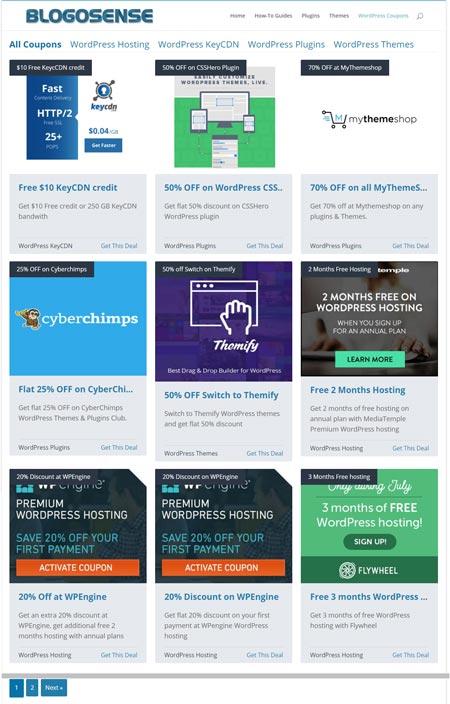 WP Coupons Plugin WordPress