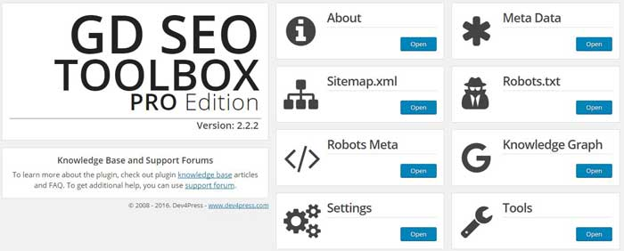 GD SEO Toolbox Pro review
