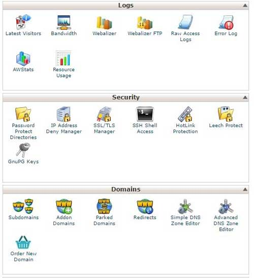 cPanel 2 InMotion hosting