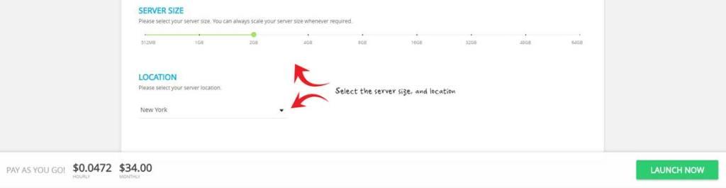 Cloudways server resources