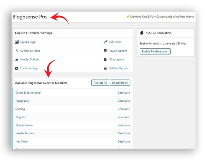 custom branding blogosense