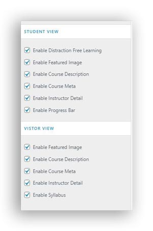 course lesson view in atsra wordpress theme review