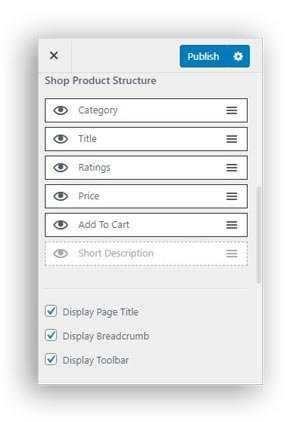 woocommerce product page structure