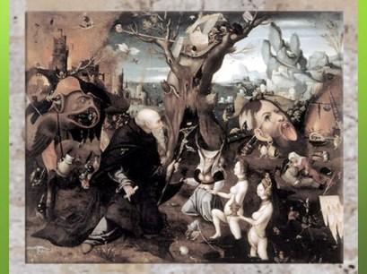 D'après L'Ermite Antonius, Jerôme Bosch, début XVIe siècle. (Marsailly/Blogostelle)