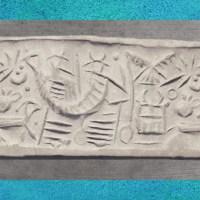 Le Sacré en Mésopotamie : des divinités coiffées de tiares à cornes...