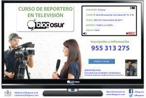 Curso de Reportero de Televisión con Fernando G. Haldón (Blogosur)