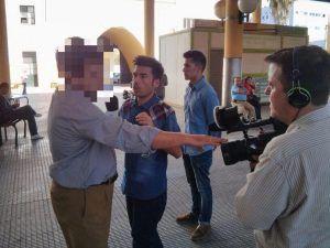 Fernando G. Haldón, Reportero de Andalucía Directo (CanalSur TV)
