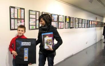 Exposición de marcapáginas en el Hall del Centro Cívico (hasta el 9 de marzo)