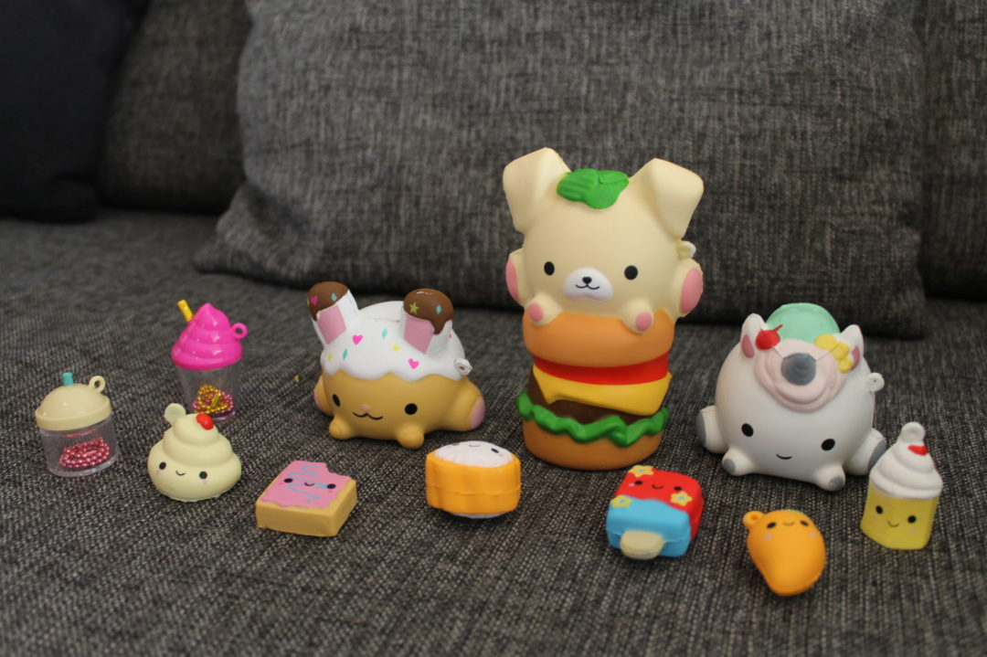 squishies eten burger smooshy