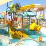 Zwemmen, eten en slapen in SplashWorld Pegasos in Turkije
