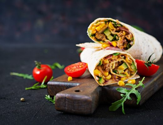 burrito's: it's a wrap
