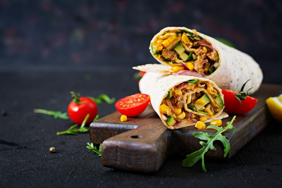 burrito's: it's a wrap