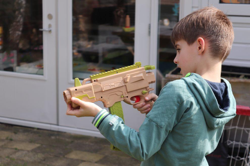 Paper Shooter: mini-gun