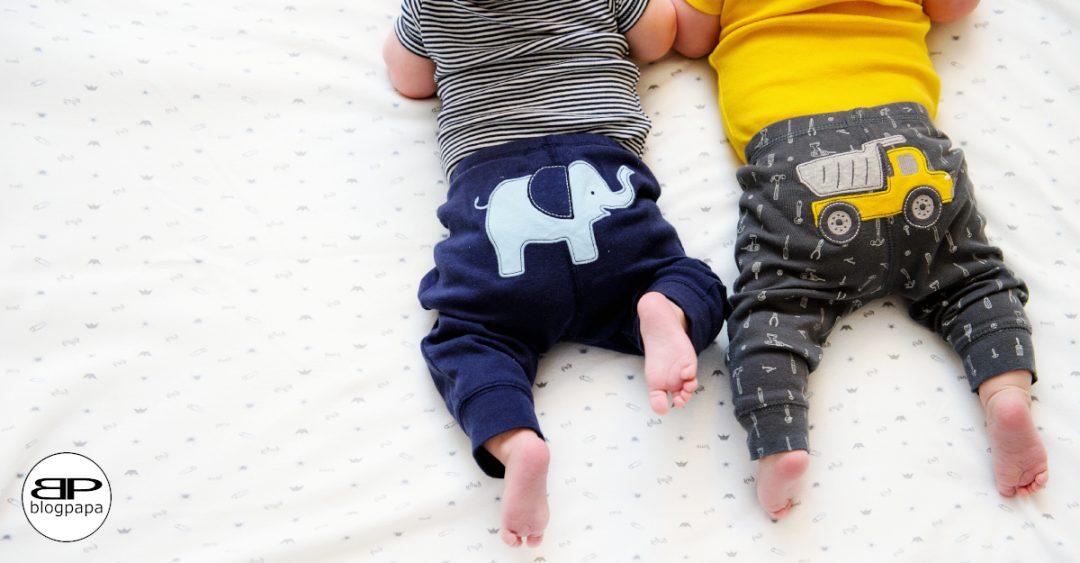baby kleding als monumentje