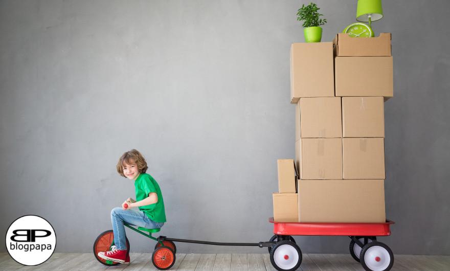 Ga jij binnenkort verhuizen en heb je kleine kinderen? Met deze tips helpen wij jou in het verhuizen met kleine kinderen