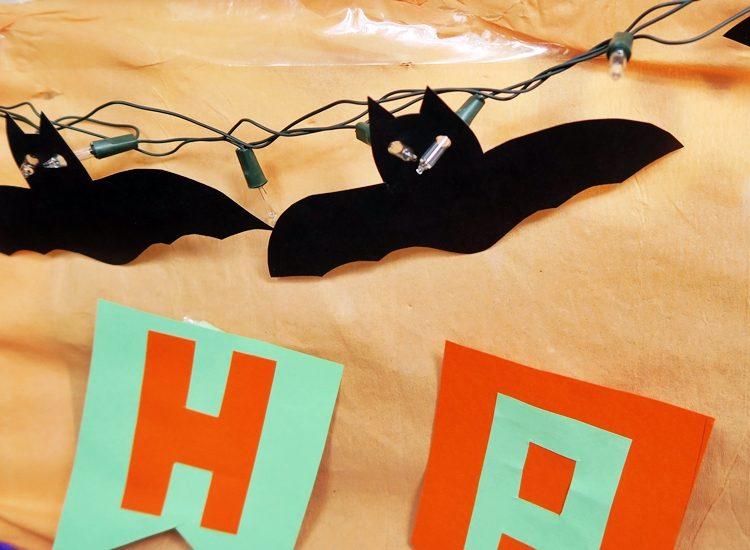COMO MONTAR UMA FESTA DE HALLOWEEN morcego