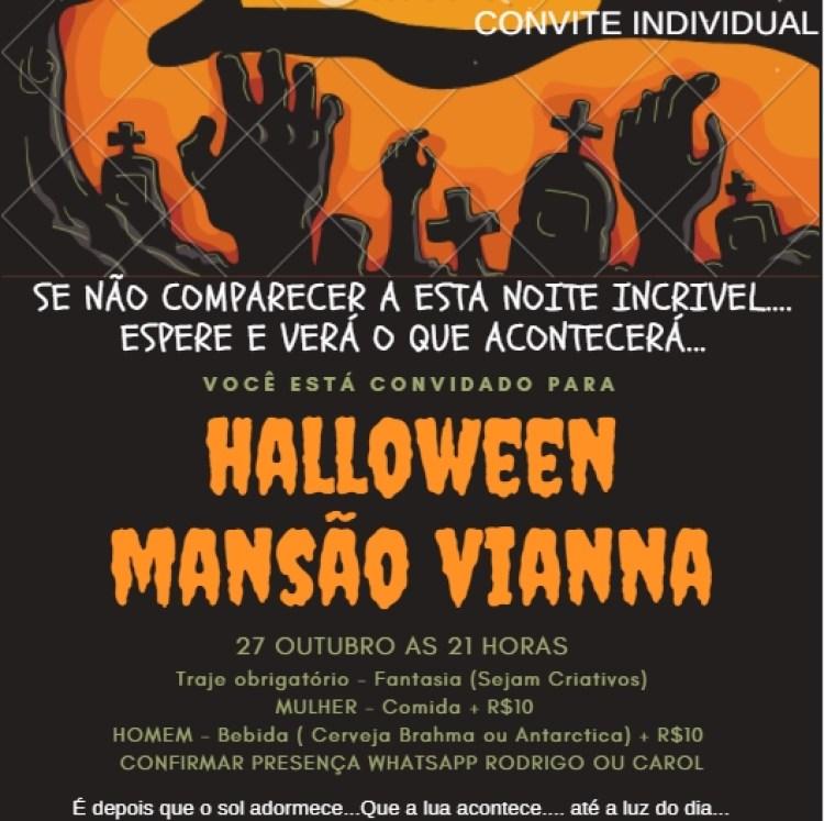 Como Fazer Convite De Halloween Virtual
