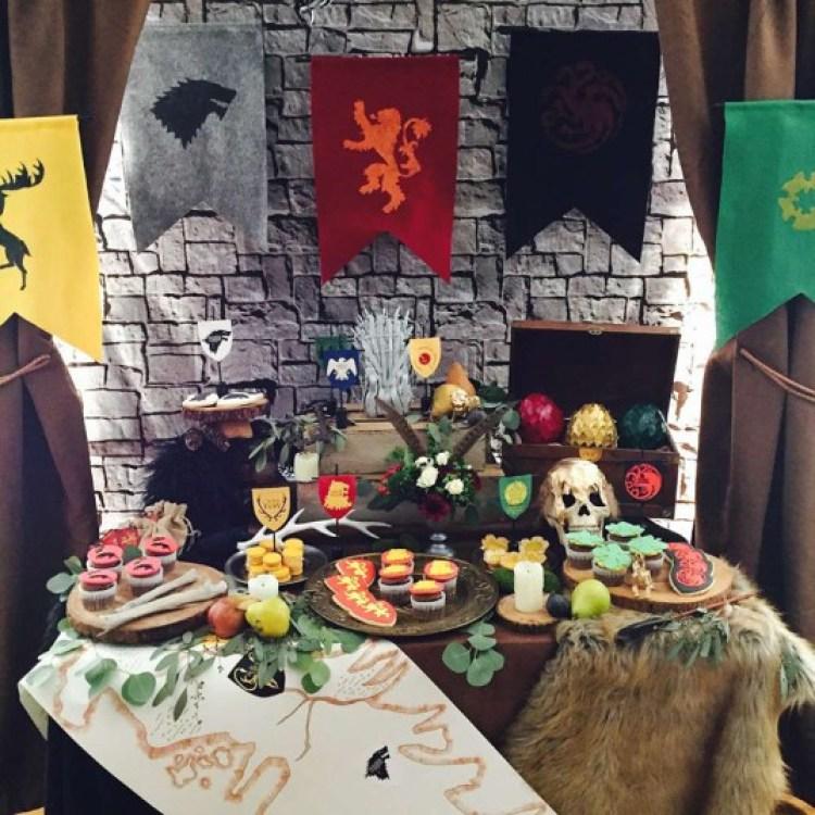 DECORAÇÃO FESTA GAME OF THRONES