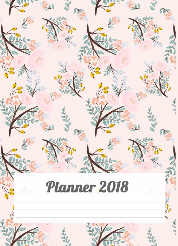 PLANNER 2018 PARA IMPRIMIR | POR CAROL GOMES