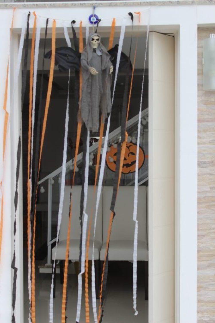 decoração festa de halloween