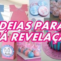 54 IDEIAS PARA CHÁ DE REVELAÇÃO - POR CAROL GOMES