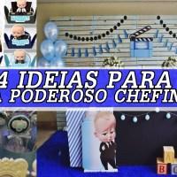 104 IDÉIAS PARA FESTA PODEROSO CHEFINHO - FAÇA SUA FESTA!
