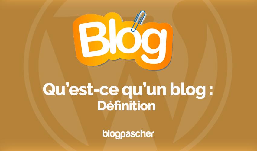 Qu Est Ce Qu Un Blog Wordpress