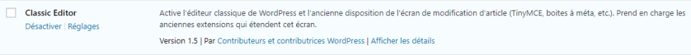 Comment installer plugin wordpress activer 5
