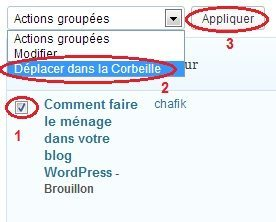 Comment faire le m nage dans votre blog wordpress blogpascher - Comment faire le menage ...