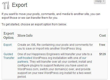 трансфер-сайт-WordPress