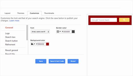 comment ajouter le moteur de recherche google sur votre blog wordpress