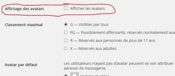 Come disattivare gravatar sul tuo blog wordpress for Crea il tuo avatar arreda le tue stanze