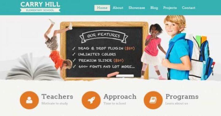 9 Temas de WordPress para crear un sitio para niños | BlogPasCher
