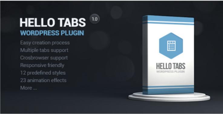 Hello tabs wordpress widget plugin wordpress